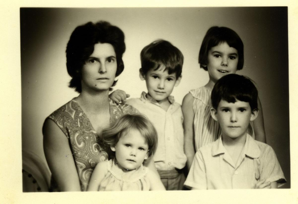 Langlands family in 1967