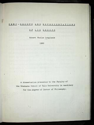 Cover of Thesis